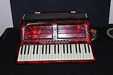 SUPER LOOKING FULL-SIZE SOPRANI INC. ACCORDION