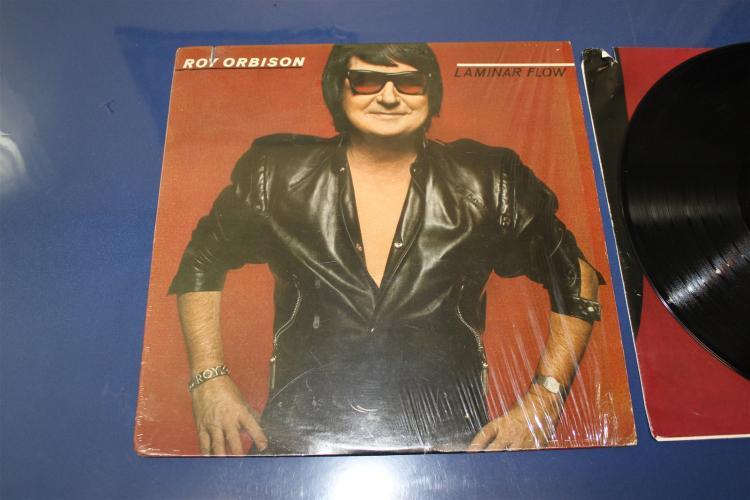 Roy Orbison Laminar Flow Vinyl Lp Album Asylum Records 6e 1