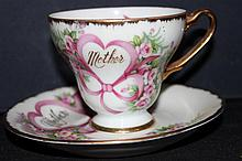 NORCREST FINE CHINA CUP AND SAUCER C-218