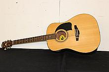 ACOUSTIC GUITAR LYON BY GEORGE WASHBURN BC6062782 BUILT IN TUNER