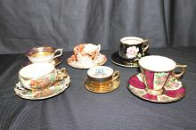 6 FINE CHINA CUPS AND SAUCERS