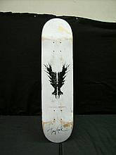 TONY HAWK PERSONALLY USED AND AUTOGRAPHED SKATEBOARD
