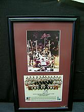 AUTOGRAPHED HERB BROOKS 1980 US OLYMPIC TEAM GOLD WINNERS COACH