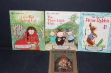 SET OF THREE GOLDEN BOOKS PLUS COZY HOUR SERIES FROM BAVARIA - GOOD CONDITION