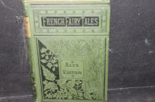 FRENCH FAIRYTALES ALTA EDITION PUBLISHED IN PHILLY 1869 GOOD CONDITION 293 PAGES