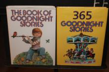 2 SUPER BEDTIME STORY BOOKS LIKE NEW BOTH PAPER JACKETS AS PICTURED 365 - 1985 GOOD NIGHT 1982 - 100S OF PICTURESS