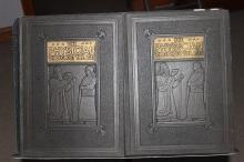 THE PHYSICIAN THROUGHOUT THE AGES IN TWO-VOLUME SET NEAR MINT CONDITION WITH MANY ILLUSTRATIONS- FIRST EDITION BY CHARLES CAPEHART 1928 OVER 1700 PAGES