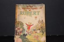 MORE ADVENTURES OF RUPERT -WELL USED BUT PAGES ARE EXC. APPROX 1950