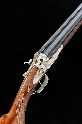 BAIKAL A RUSSIAN 16-BORE TOP LEVER HAMMER GUN, NO  N413 28 1