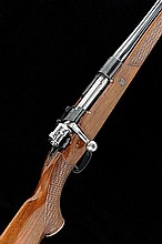 A .25-06 BOLT-ACTION SPORTING RIFLE 24 1/2-inch