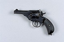 P. WEBLEY & SON A .455 MARK III REVOLVER, NO. 1472