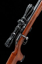 BSA A .22 BOLT-ACTION SPORTING RIFLE, NO. V3142,
