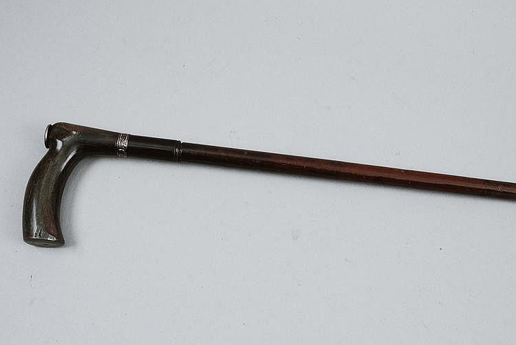 A CONTINENTAL 7MM WALKING STICK GUN 24 1/2-inch