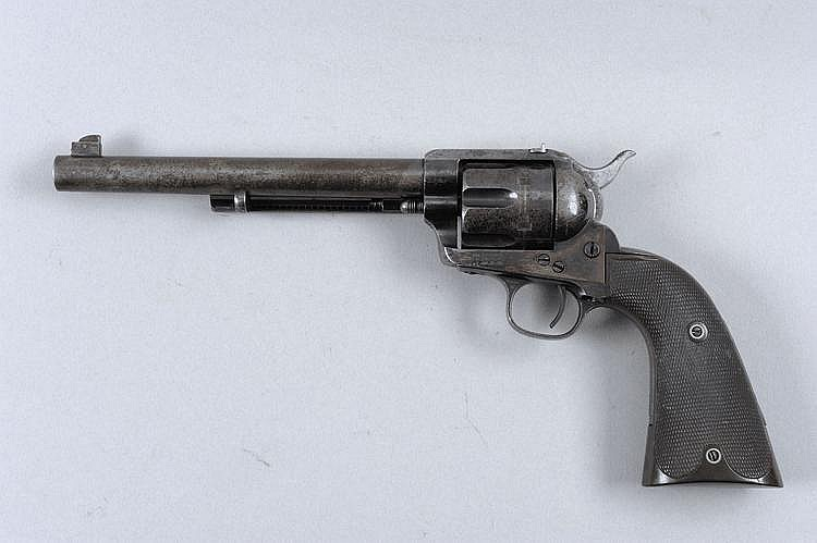 COLT A SCARCE .45 BOXER LONG GRIP FLAT TOP SINGLE