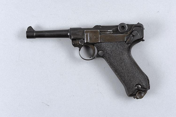 ERFURT THE MAJOR PARTS OF A 9MM LUGER SELF-LOADING
