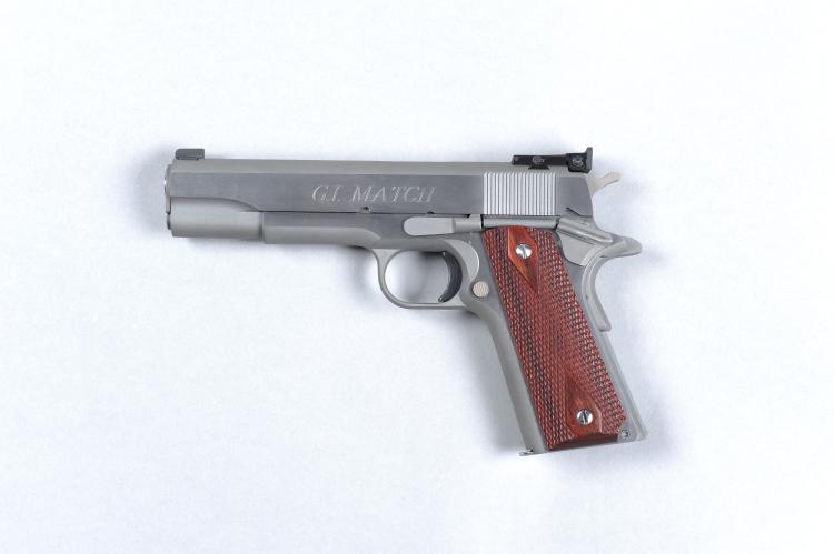 COLT A .45 ACP ''G. I. MATCH'' MODEL 1911 SELF-LOADING PISTOL, NO. CU31947