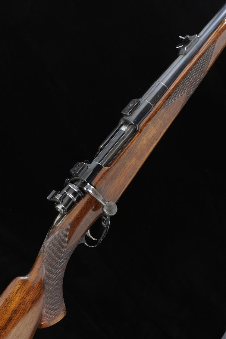 COGSWELL & HARRISON A .375 H&H MAGNUM BOLT-ACTION SPORTING RIFLE, NO. 64296