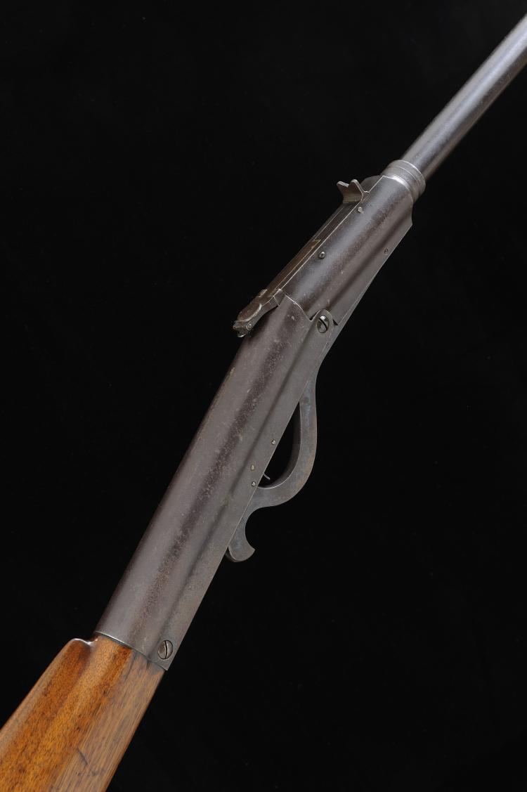 H. M. QUACKENBUSH A .22 SHORT NO.5 MODEL COMBINATION RIFLE, NO. 1834 22-inc
