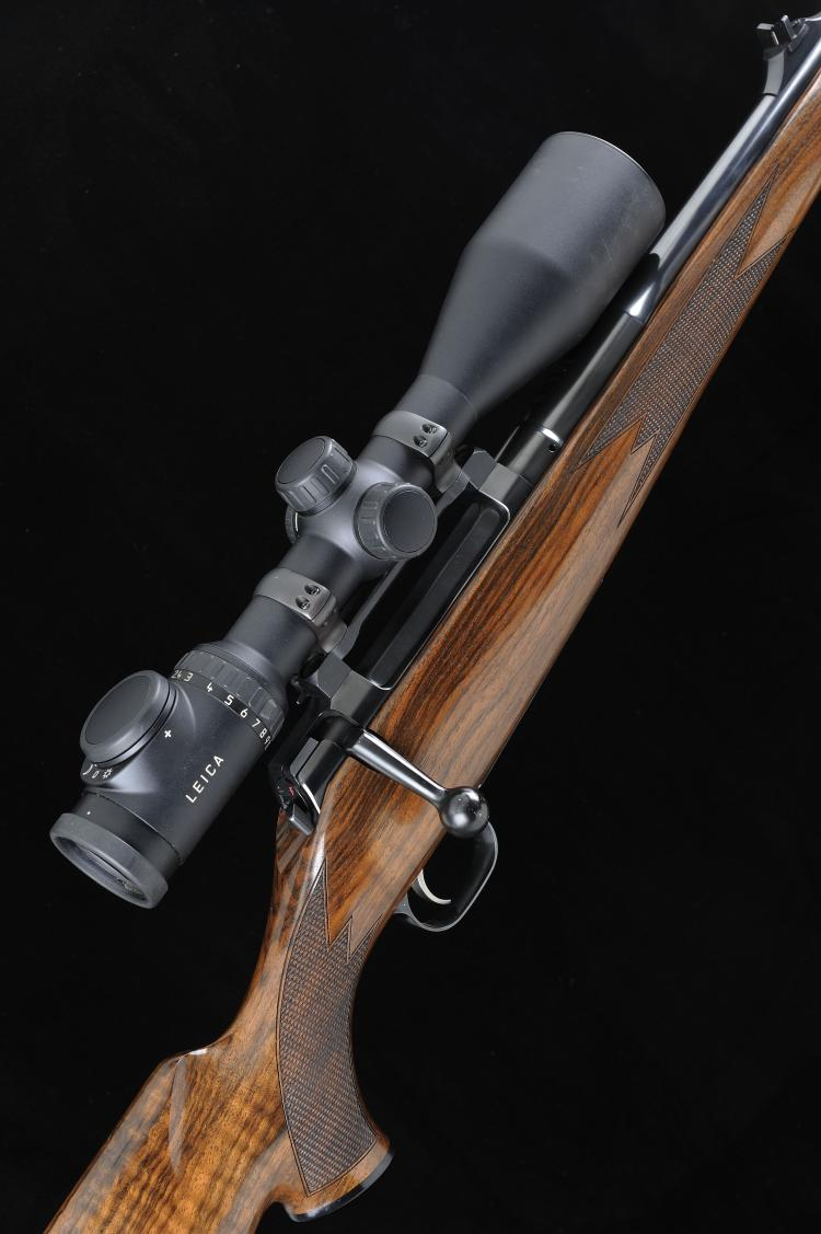 MAUSER A .458 WIN MAG MODEL MO3 BOLT-ACTION SPORTING RIFLE, A TWO BARREL SE