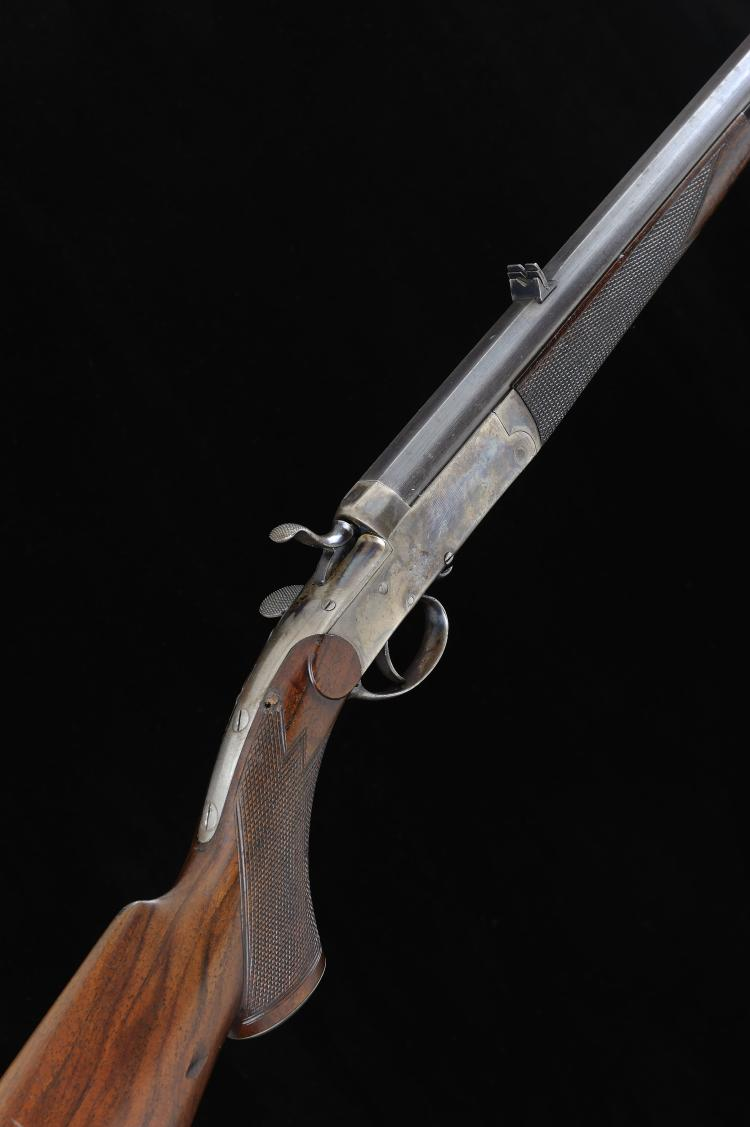 A .300 HAMMER ROOK RIFLE, NO. 41365 28-inch round barrel with flat top surf