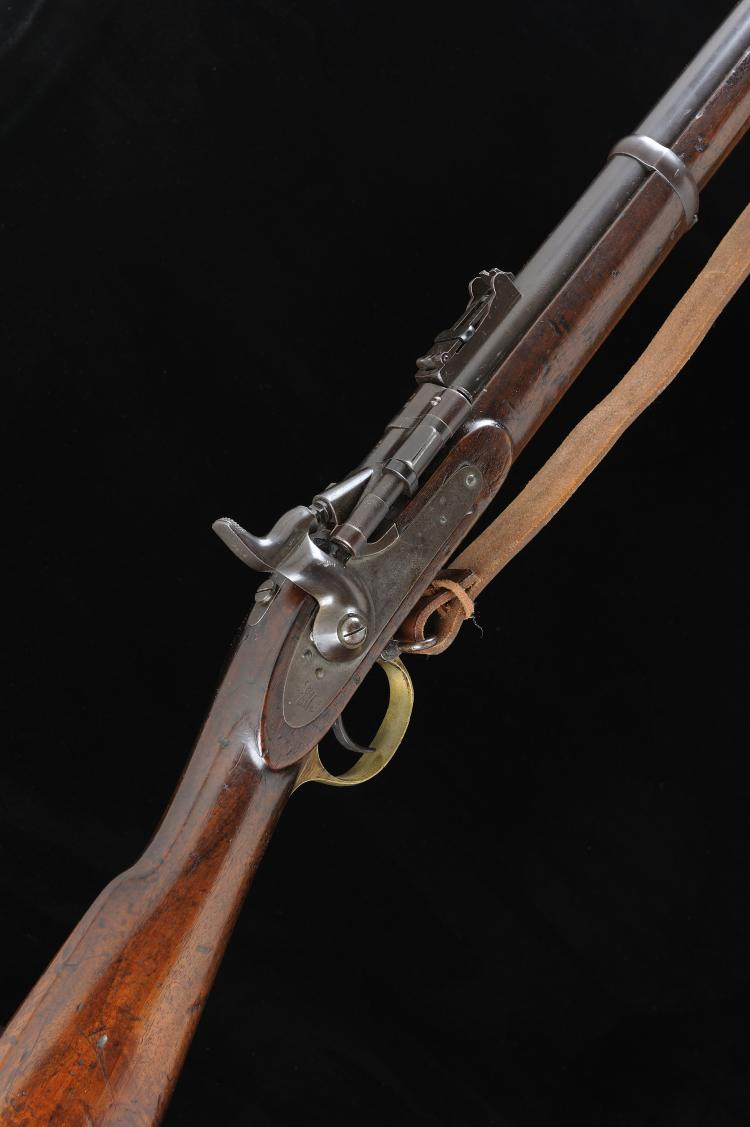 ENFIELD A .577 SNIDER SERVICE RIFLE 36-inch barrel with folding ladder rear
