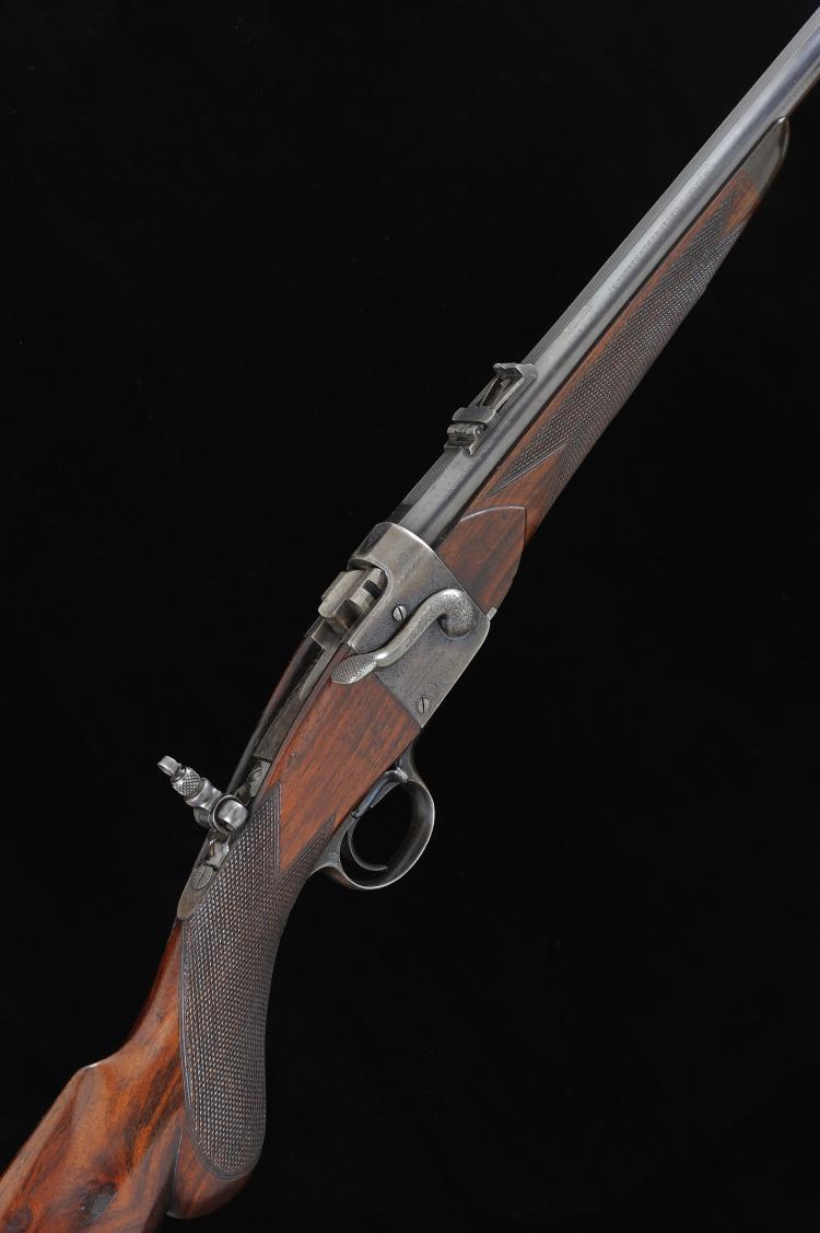 WESTLEY RICHARDS & CO. A FINE .300 FALLING BLOCK RIFLE, NO. 1726 27-inch ba