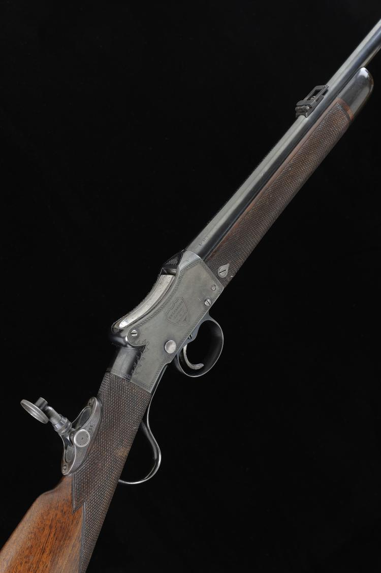 W. W. GREENER A FINE .22 ''LADIES SPECIAL'' MODEL MARTINI ACTION TARGET RIF