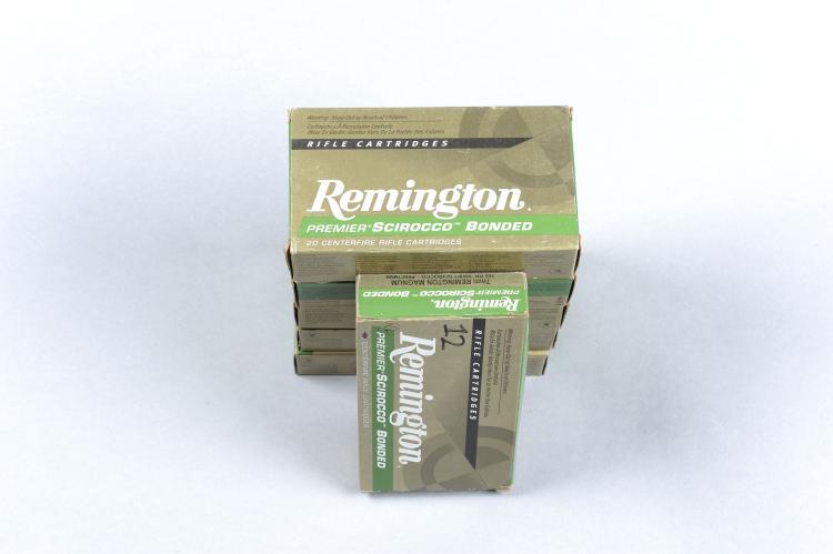 REMINGTON 80 RNDS .416 REMINGTON MAGNUM 400 GRAIN A-FRAME BULLET together w