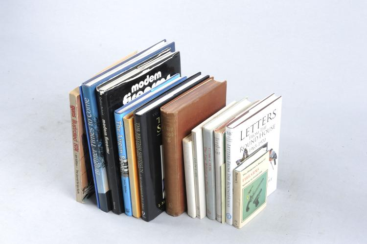 A SMALL QUANTITY OF BOOKS RELATING TO GUNS AND SHOOTING including ''Game Sh