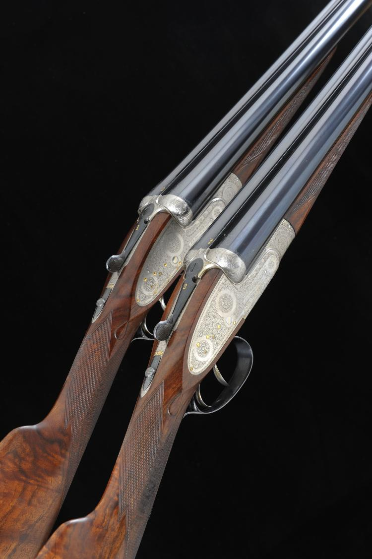 A. A. BROWN & SONS A FINE PAIR OF 12-BORE ''SUPREME DELUXE'' SELF-OPENING S