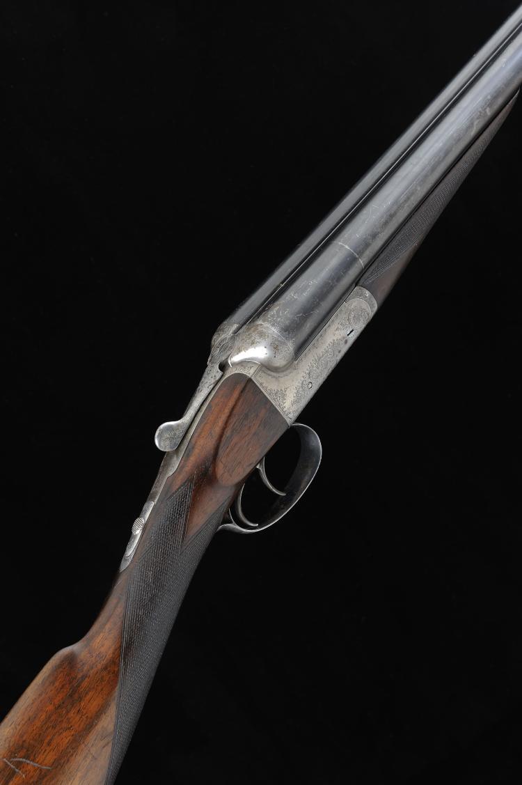 F. BEESLEY A 12-BORE BOXLOCK EJECTOR GUN, NO. 2622 28-inch sleeved barrels