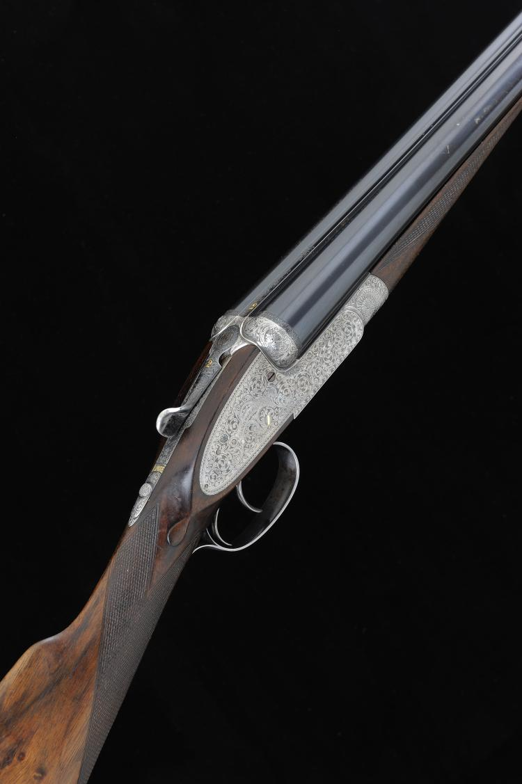 HOLLAND & HOLLAND A 12-BORE ''ROYAL'' MODEL SIDELOCK EJECTOR GUN, NO. 23369