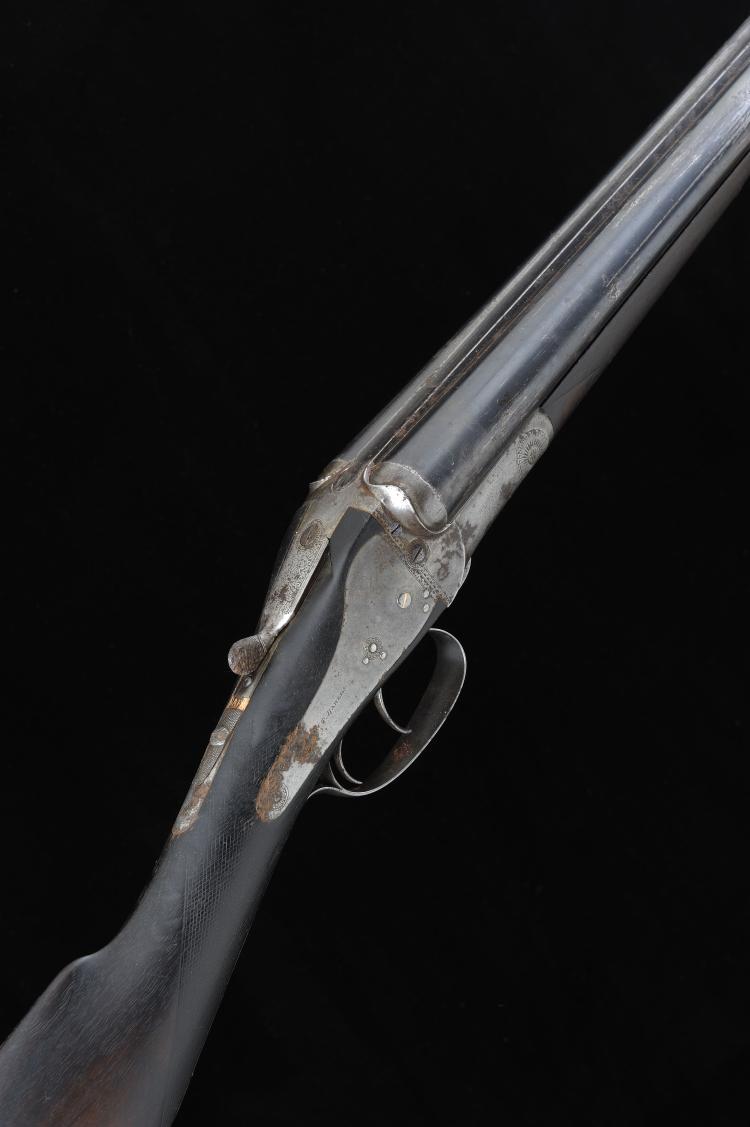 F. T. BAKER A 12-BORE BACKLOCK EJECTOR GUN, NO. 6265 30-inch barrels with 2
