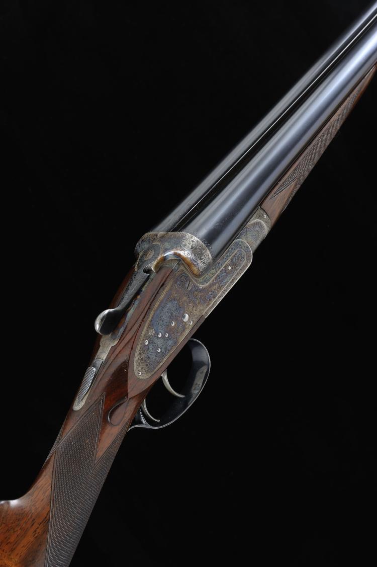 ALEX MARTIN A FINE 12-BORE SIDELOCK EJECTOR GUN, NO. 6961 28-inch barrels w