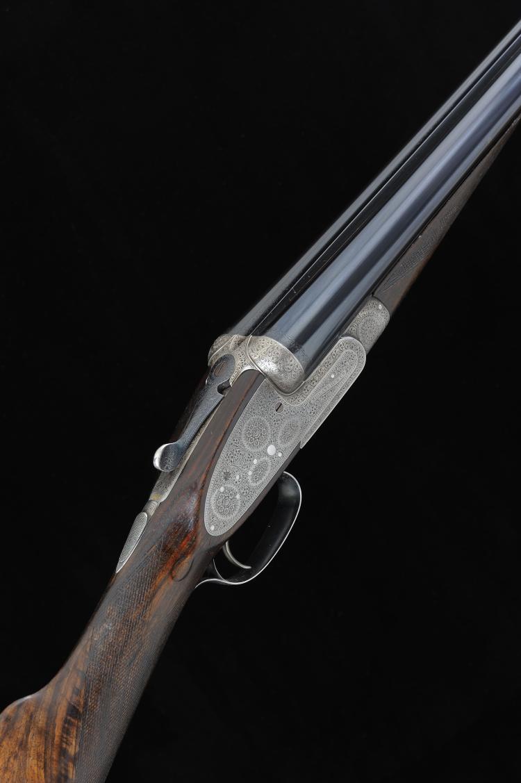 MIDLAND GUN CO. A 12-BORE SINGLE TRIGGER SIDELOCK EJECTOR GUN, NO. 25771 30