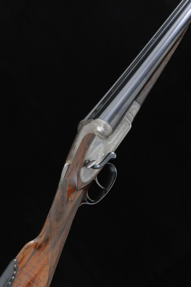 STEPHEN GRANT & SONS A 12-BORE SIDE LEVER SIDELOCK EJECTOR GUN, NO. 7877 30