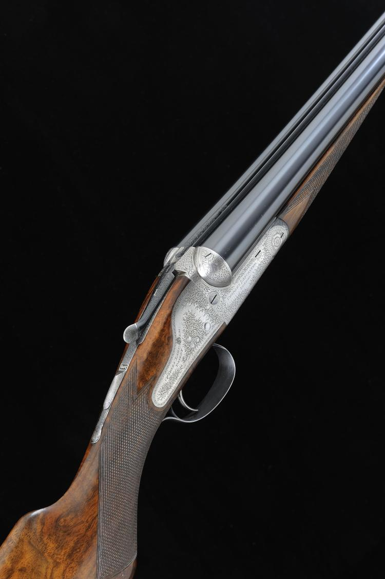 CHARLES LANCASTER A 12-BORE SINGLE TRIGGER BACKLOCK EJECTOR GUN, NO. 6237 2
