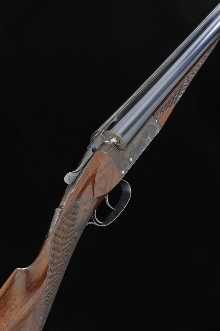 CHURCHILL GUNMAKERS LTD A FINE 12-BORE ''REGAL'' MODEL BOXLOCK EJECTOR GUN,