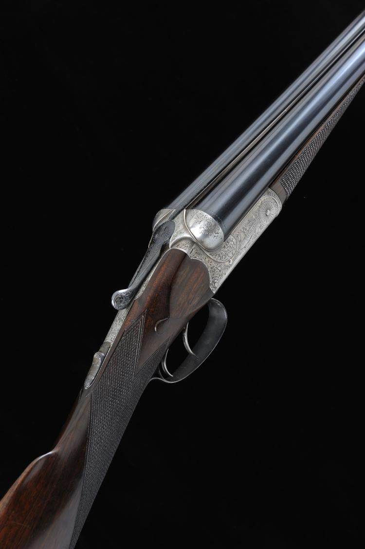 W. HORTON A 12-BORE BOXLOCK EJECTOR GUN, NO. 2245 28-inch barrels with 2 1/