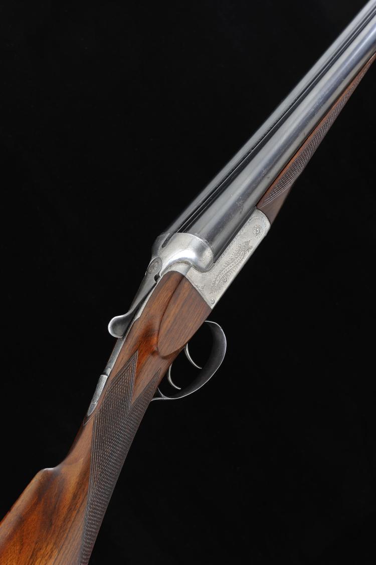 W. J. JEFFERY & CO. A 12-BORE BOXLOCK NON-EJECTOR GUN, NO. 27220 30-inch ba