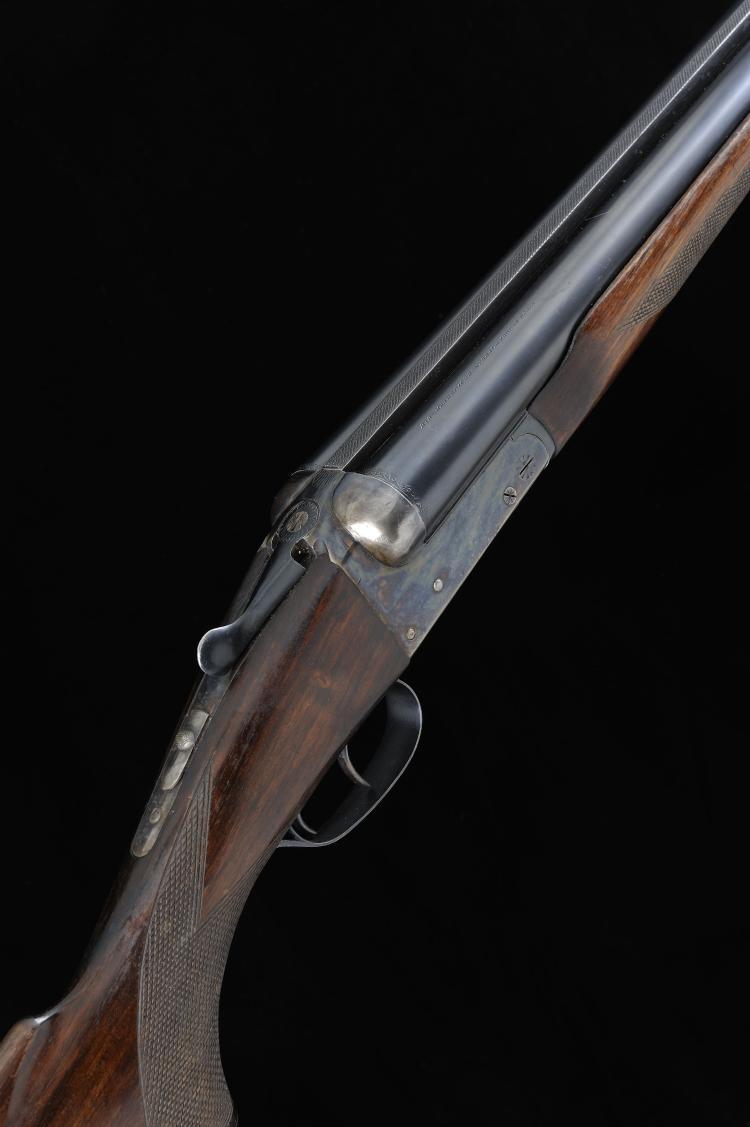 AYA A 10-BORE ''MATADOR'' MODEL BOXLOCK EJECTOR GUN, NO. 463441 32-inch cho