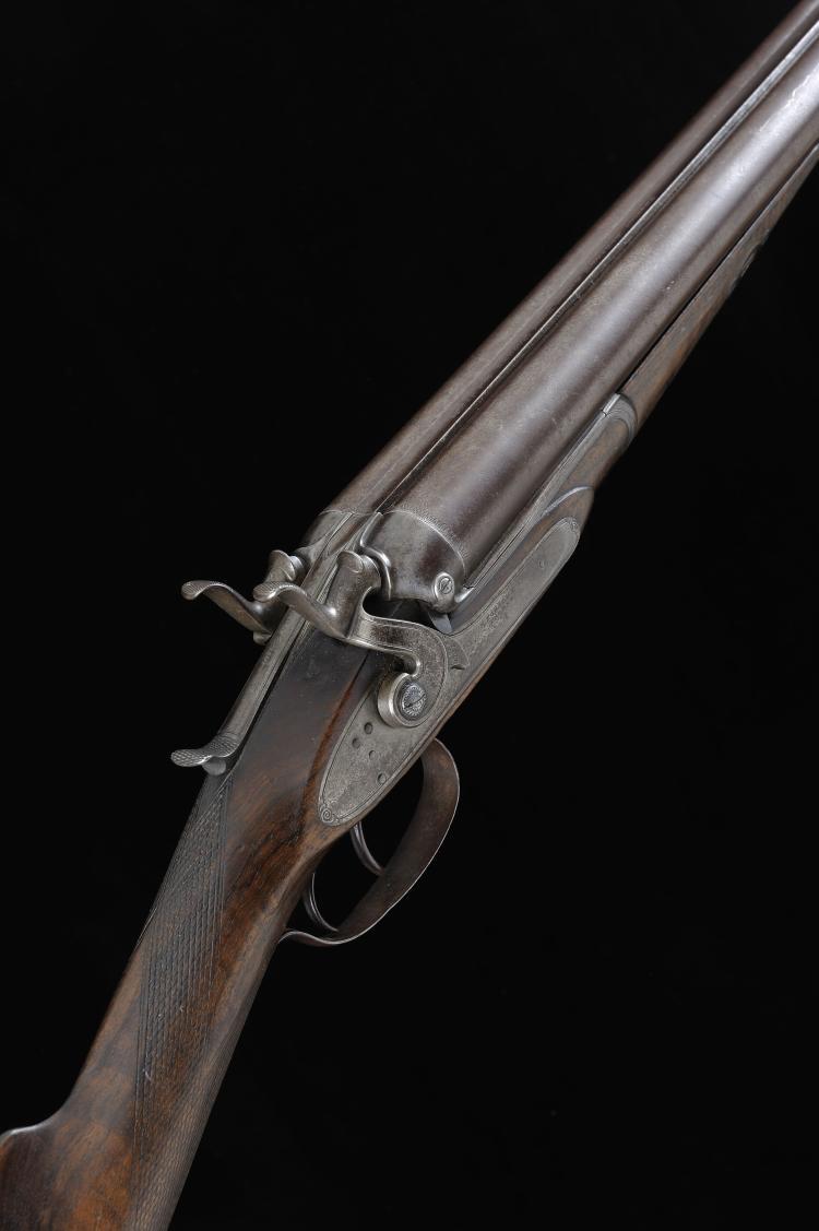 THOMAS HORSLEY A 12-BORE PATENT BAR-IN-WOOD HAMMER GUN, NO. 1998 30-inch da