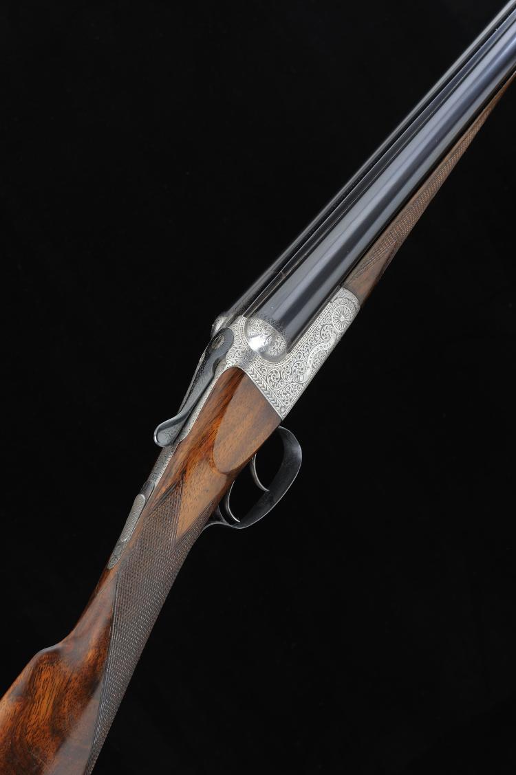 WATSON BROS. A 20-BORE BOXLOCK NON-EJECTOR GUN, NO. 7383 28-inch sleeved ba