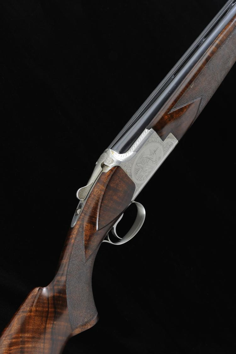 BROWNING A BELGIAN 12-BORE B4 GRADE SINGLE TRIGGER OVER AND UNDER EJECTOR G