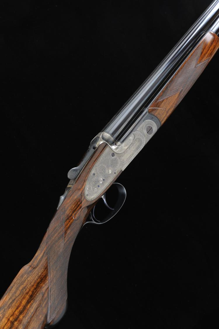J. WOODWARD & SONS A FINE 20-BORE OVER AND UNDER EJECTOR GUN, NO. 6733 28-i