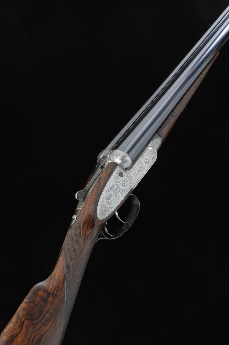 J. PURDEY & SONS A 12-BORE SELF-OPENING SIDELOCK EJECTOR GUN, NO. 16759 28-