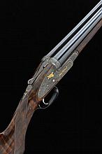 JOHN WILKES A FINE 12-BORE SINGLE TRIGGER SIDELOCK EJECTOR GUN, NO. 15270 2