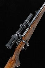 T. T. PROCTOR A .458 LOTT BOLT-ACTION SPORTING RIFLE, NO. 132 26-inch barre