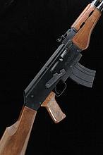 ARMS CORPORATION A .22 AK47-22 MODEL SELF-LOADING RIFLE, NO. A805517 18-inc