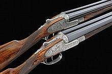 HOLLAND & HOLLAND A MAGNIFICENT PAIR OF 12-BORE ''ROYAL DELUXE'' MODEL SELF